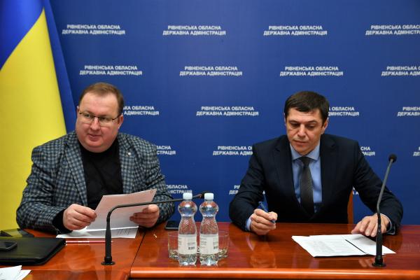 Протидіяти поширенню коронавірусу готуються на Рівненщині