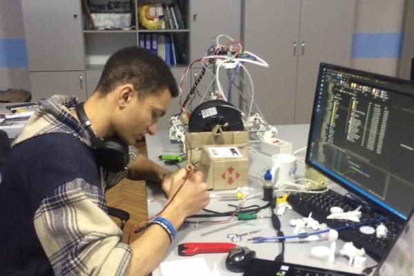 Студент НУВГП зібрав свій перший 3D принер (фото)