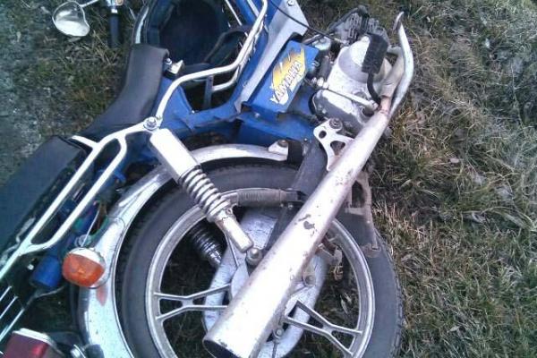 На Рівненщині травмувався мотоцикліст (фото)