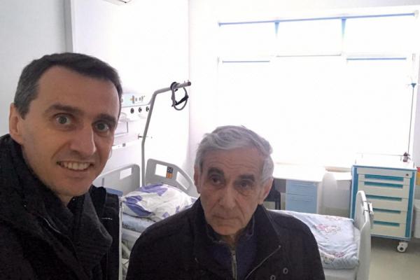 Заступник Міністра охорони здоров'я відвідав інфекційні відділення Рівненщини