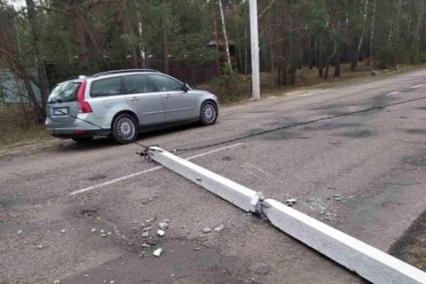 Негода наробила шкоди у північних районах Рівненщини