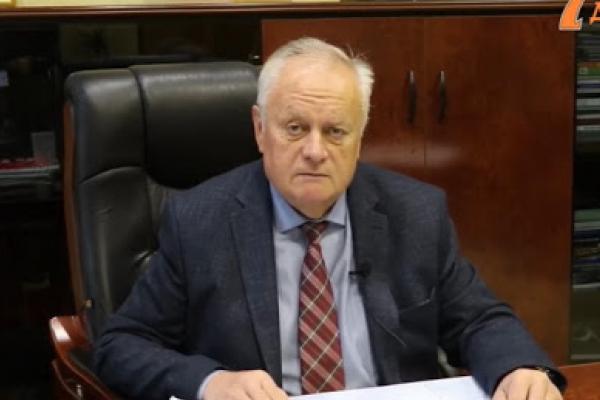 Голова Рівного Володимир Хомко звернувся до рівнян