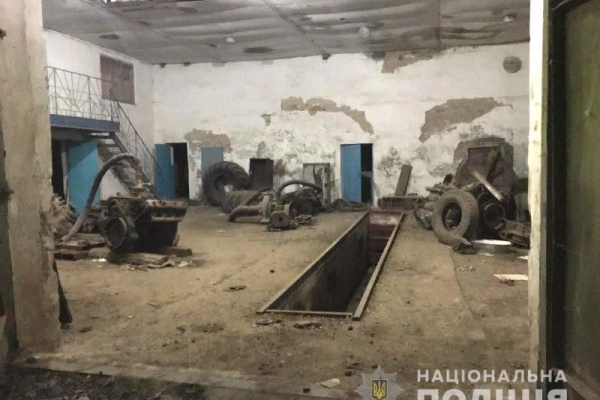 На Костопільщині поліцейські спіймали крадія «на гарячому»
