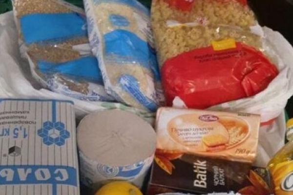 На Рівненщину надійде понад 37 тисяч продуктових пакетів