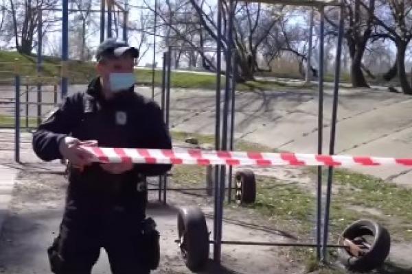 Поліція контролює ситуацію на Рівненщині навіть з повітря (відео)