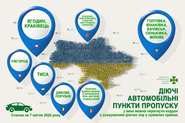 На Рівненщині жоден із 5-ти пунктів пропуску з Білоруссю не працюватиме