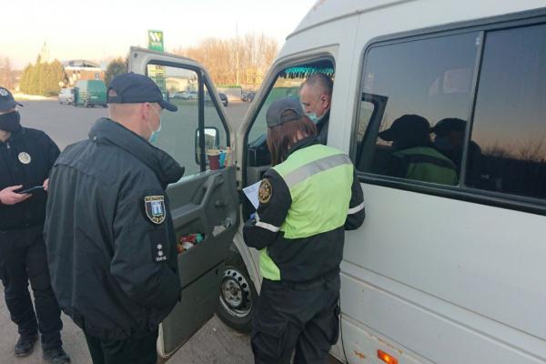 На Рівненщині перевіряють спецрейси на предмет дотримання правил перевезення пасажирів