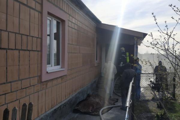 У Глушиці пенсіонер загинув під час пожежі