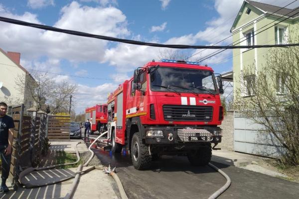 У Вересневому вогнеборці врятували двоповерховий житловий будинок