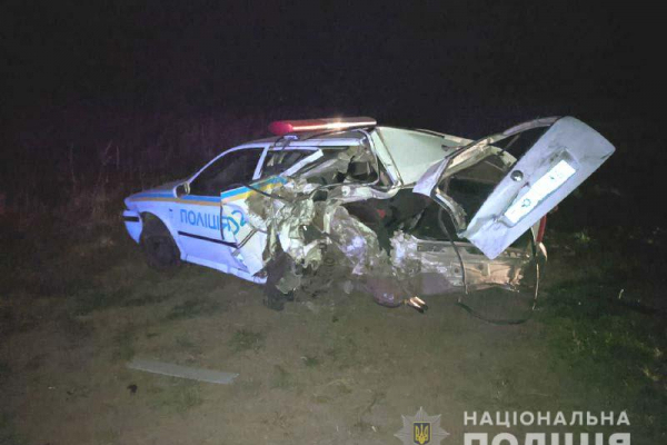 У ДТП на Рівненщині травмувалися поліцейські (фото)