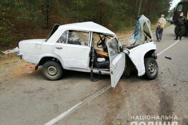 На Костопільщині сталася ДТП: є постраждалі