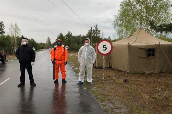 У селі Познань Рокитнівського району встановили контрольно-пропускний пункт (ФОТО)