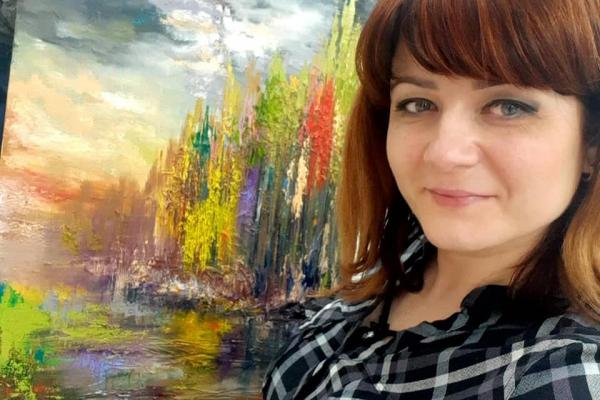 Творчість допомагає пережити карантин, - рівненська художниця Анна Вітрук (ВІДЕО)