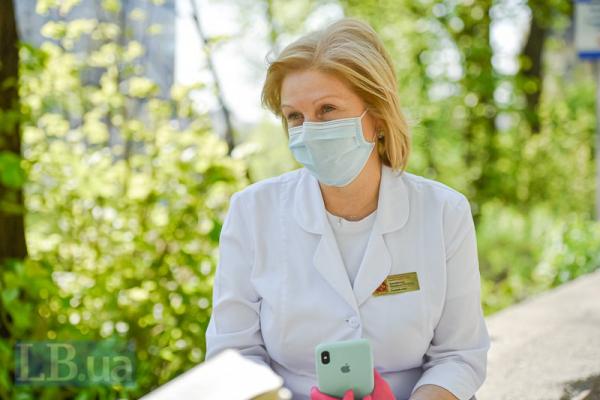 Я би не розслаблялася, - головна лікарка Олександрівської лікарні Людмила Антоненко
