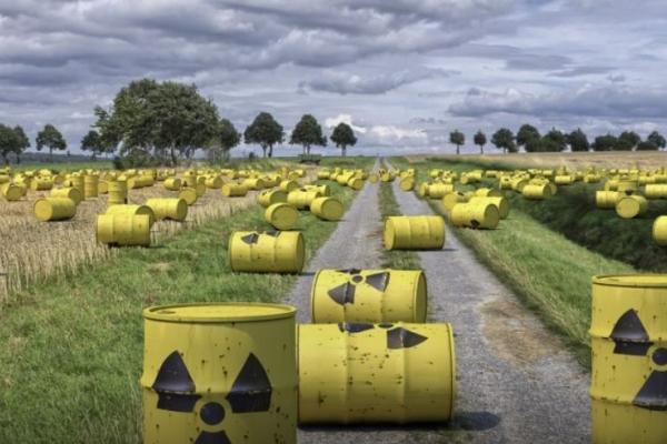 В Україні розпочинають будівництво сховища для перероблених у Росії радіоактивних відходів
