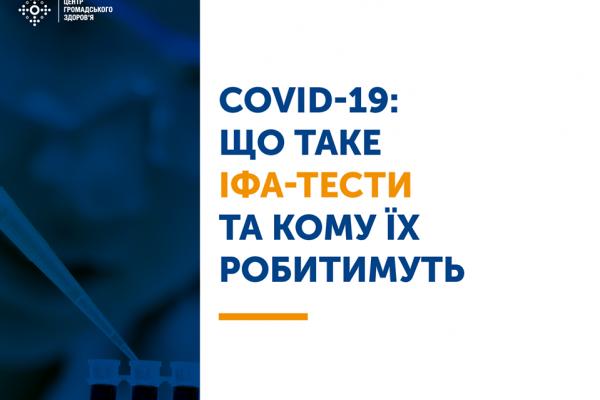 Що потрібно рівнянам знати про тести на COVID-19?