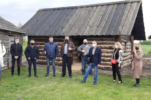 У «Пересопниці» на Рівненщині презентували давньоруське житло XII століття