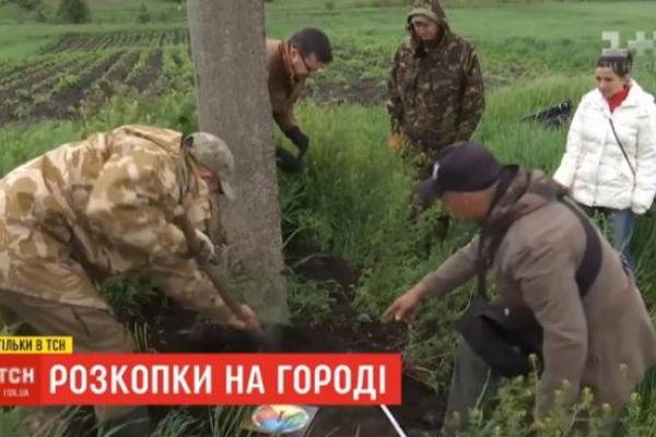 У селі Заріцьк Рівненського району місцеві жителі виявили на городі плити часів Київської Русі