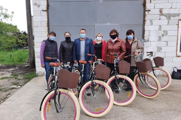 У Шпанівській ОТГ сіли на велосипеди (ФОТО)