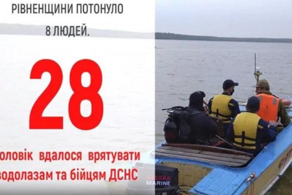 На водоймах Рівненщини уже потонуло восьмеро людей