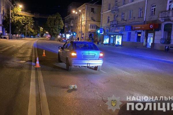 Рівнянин збив пішохода, який перетинав дорогу у невстановленому місці (ФОТО)