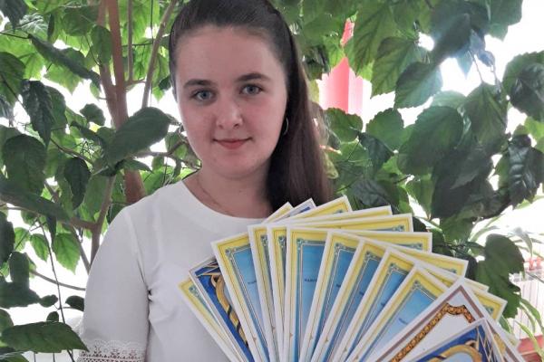 Рокитнівчанка буде отримувати стипендію Кабінету Міністрів України