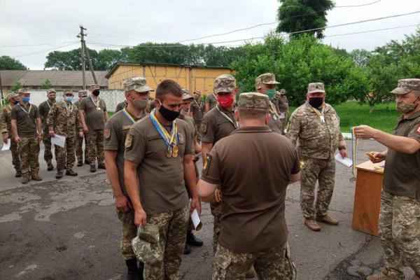 На Рівненщині в ОК «Захід» змагалися військові