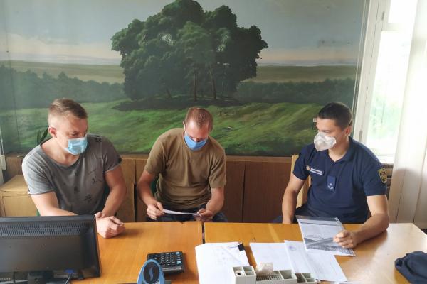 У Здолбунові рятувальники зустрілися з працівниками лісництва