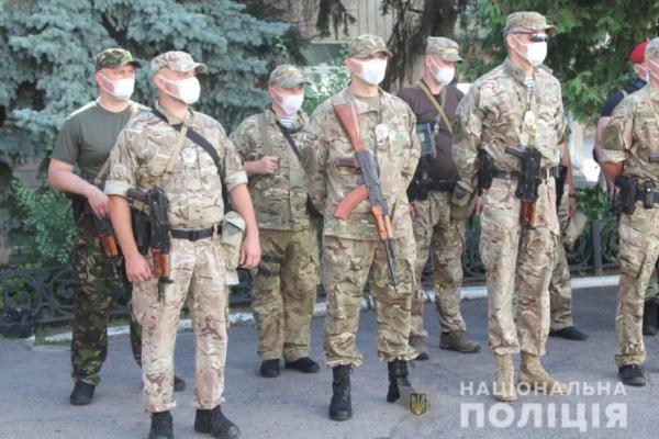 Загін рівненських поліцейських вирушив у зону ООС