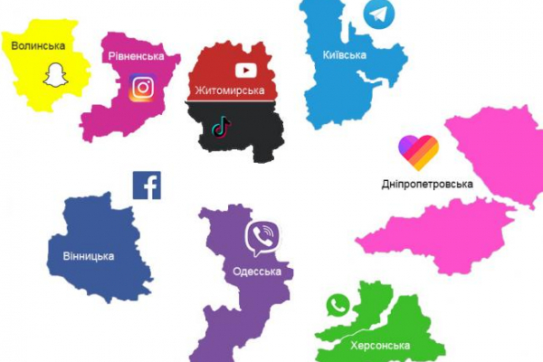На Рівненщині використовують Instagram найчастіше в Україні