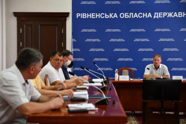 У РОДА обговорили реконструкцію водосховища у Хрінниках