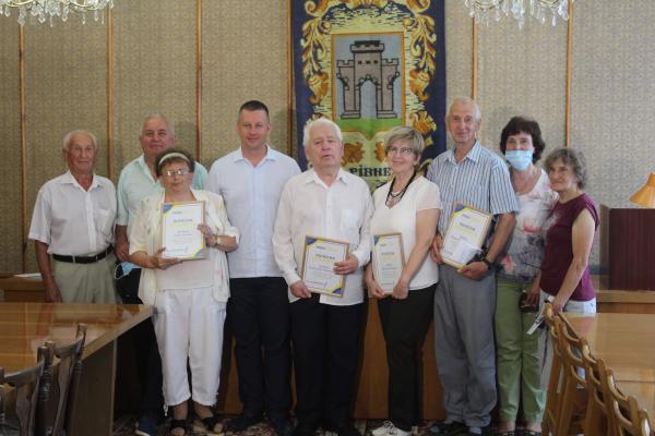 Віктор Шакирзян привітав ветеранів будівельної галузі Рівного