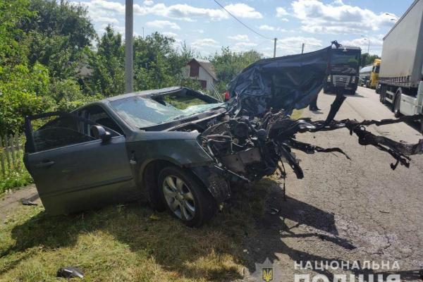 Смертельна ДТП на Дубенщині забрала життя двох водіїв (ФОТО)