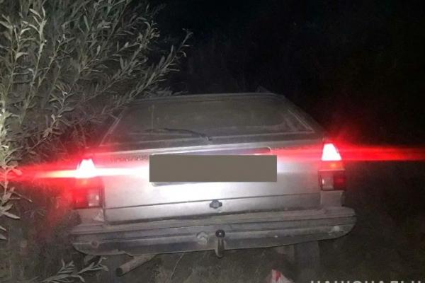 Житель села Жалин, що на Рівненщині, в'їхав у службове авто поліції