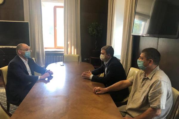 Віталій Коваль домовився з міністром охорони здоров'я про фінансування скандальної лікарні у Вараші