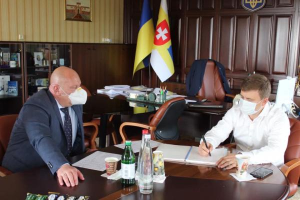 Віталій Коваль відзначив роботу ПРАТ «Дікергофф цемент Україна» на Здолбунівщині