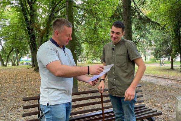 Віктор Шакирзян і «Рівне Разом» допомагатимуть ветеранові АТО у підготовці до «Ігор Нескорених»