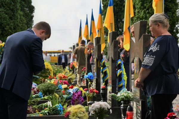 На Рівненщині відзначили 29-ту річницю Незалежності України (ФОТО)