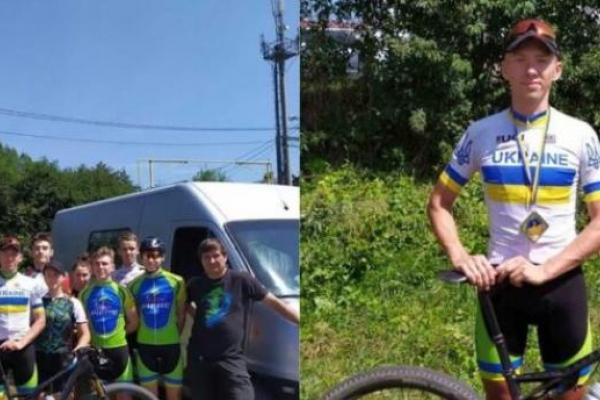 Рівненський велогонщик Олександр Гудима став чемпіоном України з маунтенбайку