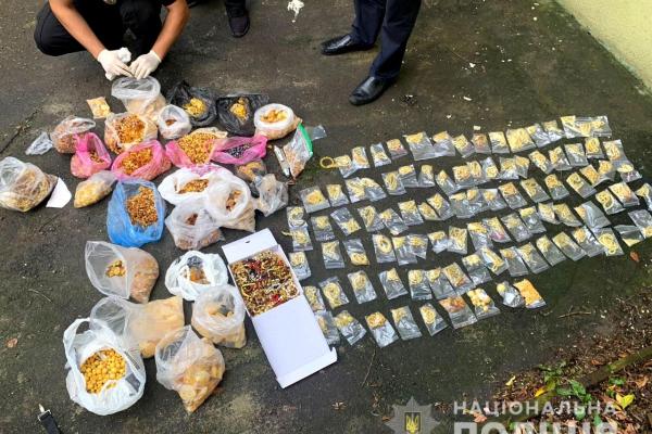 У Рівному працівники поліції вилучили бурштину на мільйон гривень