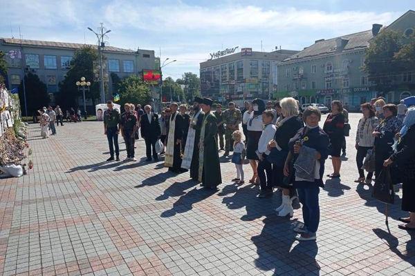 У Рівному вшанували загиблих героїв України