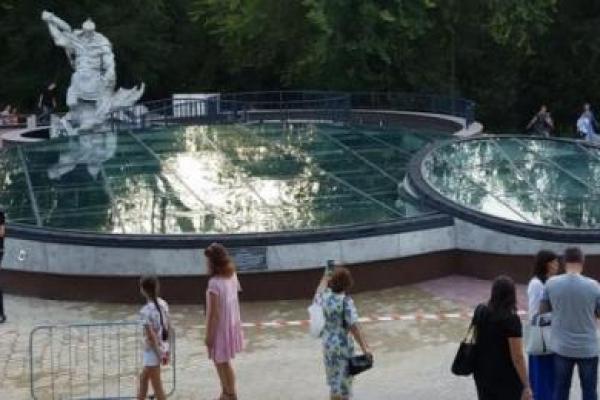 Як виглядають підземелля з фонтаном у парку Рівного (Відео)