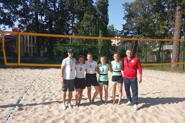 Збірна Рівненщини взяла участь у чемпіонаті України з пляжного волейболу U-21 серед спортсменів з порушеннями слуху