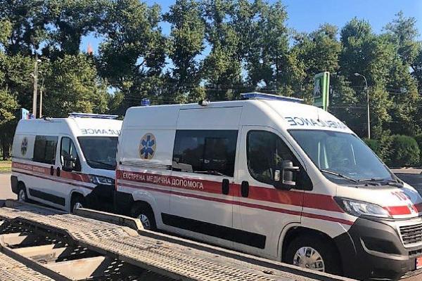 Рівненщина придбала новенькі автомобілі швидкої допомоги