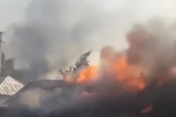 На Рівненщині розпочався сезон паління сухої трави (ВІДЕО)