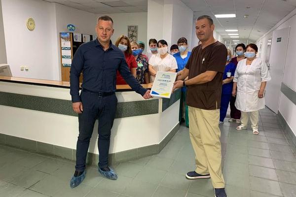 Віктор Шакирзян придбав для Рівненського опікового центру медичне обладнання