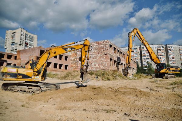 Будівництво дитсадка на Північному розпочалося – заїхала техніка