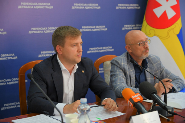 Рівненські переселенці зустрілися з Віце-прем'єр-міністром – міністром з питань тимчасово окупованих територій