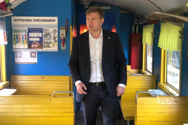 «Дитяча залізниця» має стати не лише позашкільним гуртком, а й новим громадським транспортом, - Віталій Коваль