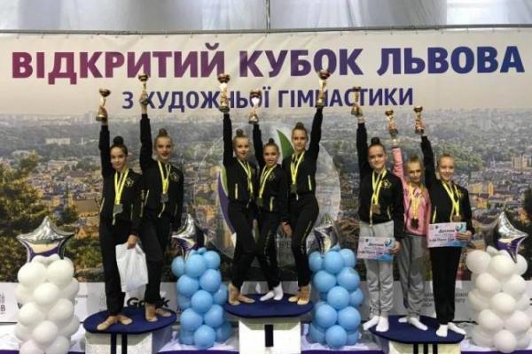 Рівненські гімнастки перемогли на «Lviv open cup»
